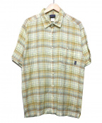 Patagonia()の古着「半袖シャツ」|イエロー