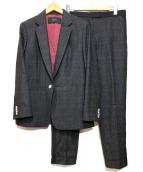 Paul Smith BLACK(ポールスミスブラック)の古着「ウールセットアップスーツ」|チャコールグレー