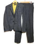 Paul Smith BLACK(ポールスミスブラック)の古着「ウールセットアップスーツ」|グレー
