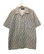 Patagonia(パタゴニア)の古着「オープンカラーシャツ」 ベージュ
