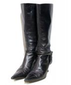 GUCCI(グッチ)の古着「ロングブーツ」|ブラック