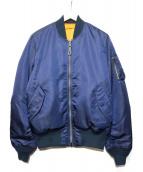 ALPHA INDUSTRIES(アルファ インダストリーズ)の古着「MA-1ジャケット」|ネイビー
