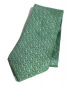 HERMES(エルメス)の古着「シルクネクタイ」 黄緑