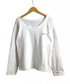 agnes b(アニエスベ)の古着「長袖Tシャツ」|ホワイト