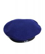 PORTER CLASSIC(ポータークラシック)の古着「ベレー帽」|ネイビー
