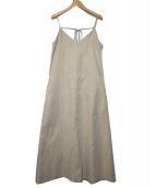 TODAYFUL(トゥデイフル)の古着「Camisole Tie Dress」|ベージュ