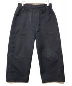 N.HOOLYWOOD(エヌハリウッド)の古着「ワイドイージ-パンツ」|ブラック