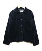 MHL.(エムエイチエル)の古着「ヘビーコーデュロイジャケット」|ネイビー