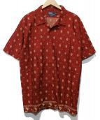 POLO RALPH LAUREN(ポロ・ラルフローレン)の古着「半袖シャツ」|レッド