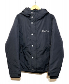 RVCA(ルーカ)の古着「PUFFA JACKET」|ブラック