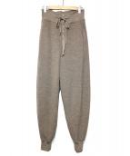 6(ROKU) BEAUTY&YOUTH(ロク)の古着「WAFFLE PANTS」|ベージュ