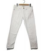 LEVIS MADE&CRAFTED(リーバイス メイドアンドクラフテッド)の古着「デニムパンツ」|ホワイト
