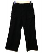 tricot COMME des GARCONS(トリコ コム デ ギャルソン)の古着「ウールパンツ」|ブラック