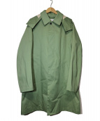 TOMORROW LAND(トゥモローランド)の古着「ステンカラーコート」 カーキ
