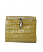 SAZABY(サザビー)の古着「2つ折り財布」|イエロー