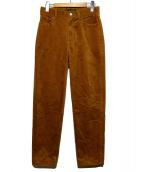 MACPHEE(マカフィ)の古着「コーデュロイパンツ」|ベージュ