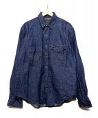Wrangler(ラングラ)の古着「デニムシャツ」|インディゴ