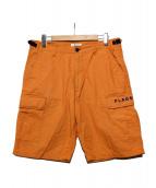 FLAGSTUFF(フラッグスタッフ)の古着「CARGO SHORTS」|オレンジ