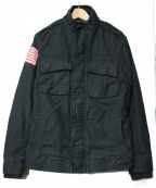 POLO JEANS CO.(ポロジーンズカンパニー)の古着「裏ボアフィールドジャケット」|ネイビー