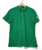 BURBERRY BLACK LABEL(バーバリーブラックレーベル)の古着「ポロシャツ」|グリーン