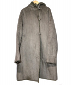 ROSSO(ロッソ)の古着「ウール混フェイクムートンコート」|グレー