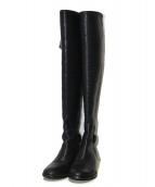 TORY BURCH(トリーバーチ)の古着「ロングブーツ」|ブラック
