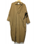 RAY BEAMS(レイビームス)の古着「BigシルエットシャツOP」|ブラウン