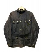 Barbour(バーブァー)の古着「オイルドジャケット」|ブラック