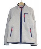 Patagonia(パタゴニア)の古着「ボーイズレトロパイルジャケット」|アイボリー