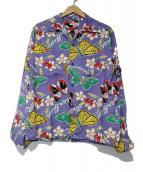 Sun Surf(サン サーフ)の古着「アロハシャツ」|パープル