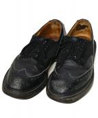 Trickers(トリッカーズ)の古着「メダリオンシューズ」|ブラック
