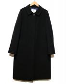 OLD ENGLAND(オールドイングランド)の古着「カシミヤ混ウールコート」|ブラック