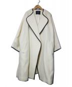 sophila(ソフィラ)の古着「アルパカモヘヤパイピングコート」|ホワイト