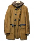 ATLAST & CO(アットラスト)の古着「内ボアフィールドコート」 ブラウン