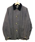 ATLAST & CO(アットラスト)の古着「カバートブランケットカバーオール」|グレー