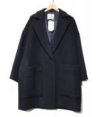 MOGA(モガ)の古着「ウールチェスターコート」|ネイビー