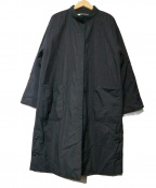 GIANNI LO GIUDICE(ジャンニ ロ ジュディチェ)の古着「ラバランウール中綿コート」|ブラック