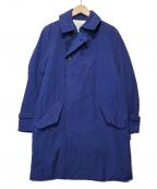 MINOTAUR(ミノトール)の古着「ハードナイロンコート」|ブルー