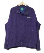 KENZO GOLF(ケンゾーゴルフ)の古着「ナイロンブルゾン」|パープル