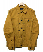 A vontade(アボンタージ)の古着「トラッカージャケット」 マスタード
