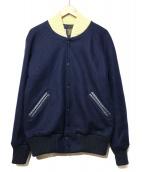 SKOOKUM(スクーカム)の古着「ウールスタジャン」|ネイビー