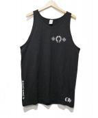 CHROME HEARTS(クロムハーツ)の古着「バックロゴタンクトップ」|ブラック