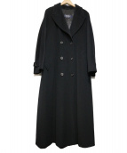 MAX MARA WEEK END LINE(マックスマーラ ウイークエンドライン)の古着「ロングコート」|ブラック