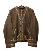 Needles(ニードルス)の古着「ウールジャケット」 ブラウン