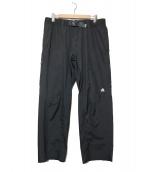NIKE ACG(ナイキエーシージ)の古着「ナイロンパンツ」|ブラック