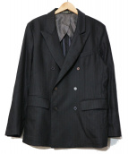 GOLDEN GOOSE(ゴールデングース)の古着「ダブルジャケット」|ブラック