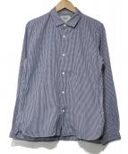 YAECA(ヤエカ)の古着「ギンガムチェックシャツ」|スカイブルー