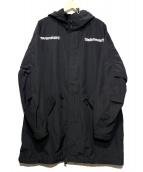 thisisneverthat(ディスイズネバーザット)の古着「フーデッドコート」|ブラック