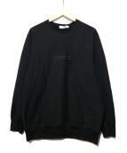 UNDEFEATED(アンディフィーテッド)の古着「クルーネックスウェット」|ブラック