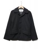 SCHOTT BROS.(ショットブロス)の古着「Pコート」|ブラック